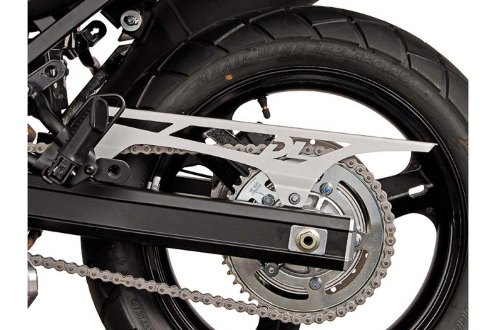 Protectie lant Aluminium. Argintiu. Gravat Suzuki V-Strom 1000 2014- [1]