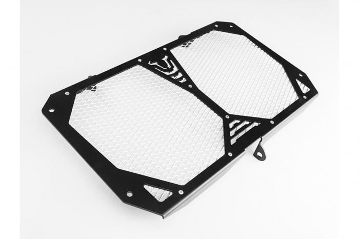 Protectie radiator Negru/Argintiu. Kawasaki Versys 1000 (12-). [0]