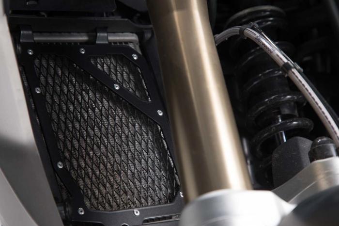 Protectie Radiator negru BMW R 1200 GS LC (16-). 2