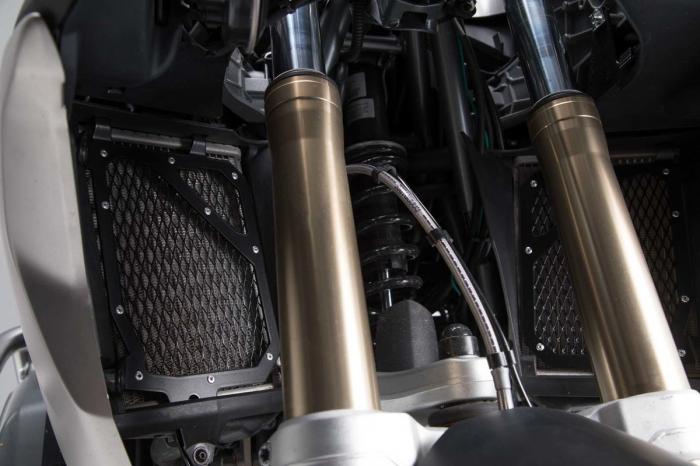 Protectie Radiator negru BMW R 1200 GS LC (16-). 0