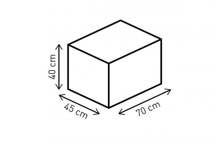Racepack geanta codita 50-65 l. Ballistic Nylon. negru /Gri. 1