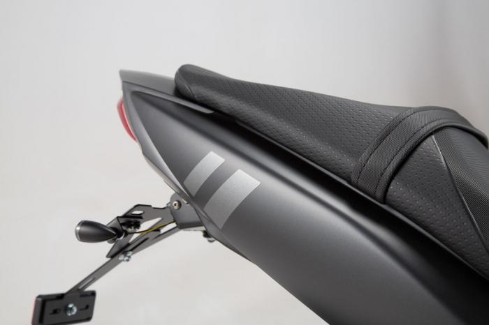 Retro Stiker Ser 17 piese, graphit metalic mat Suzuki SV650 2015- 2