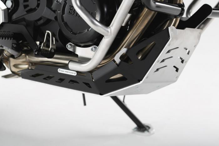 Scut motor Argintiu / negru BMW F 650 GS Twin 2007-2011 [1]