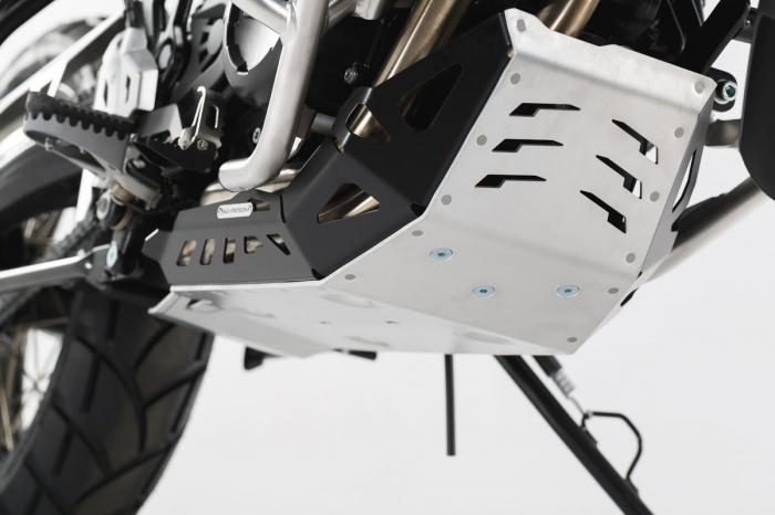 Scut motor Argintiu / negru BMW F 650 GS Twin 2007-2011 [0]