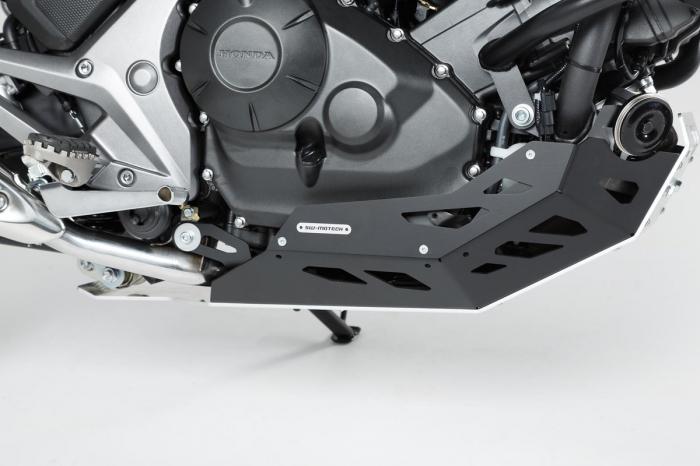 Scut motor Argintiu / negru Honda NC 700 S / SD 2011- MSS.01.151.10000 [2]