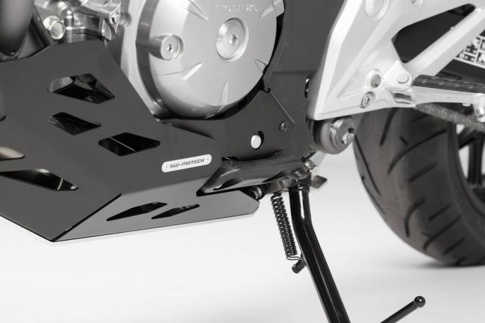 Scut motor Argintiu / negru Honda NC 700 S / SD 2011- MSS.01.151.10100 [3]