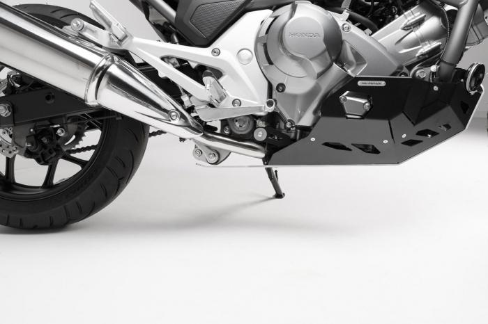 Scut motor Argintiu / negru Honda NC 700 S / SD 2011- MSS.01.151.10100 [2]