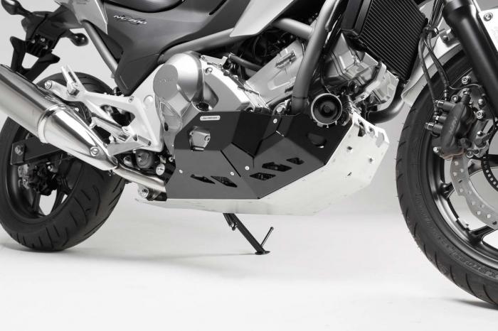 Scut motor Argintiu / negru Honda NC 700 S / SD 2011- MSS.01.151.10100 [0]
