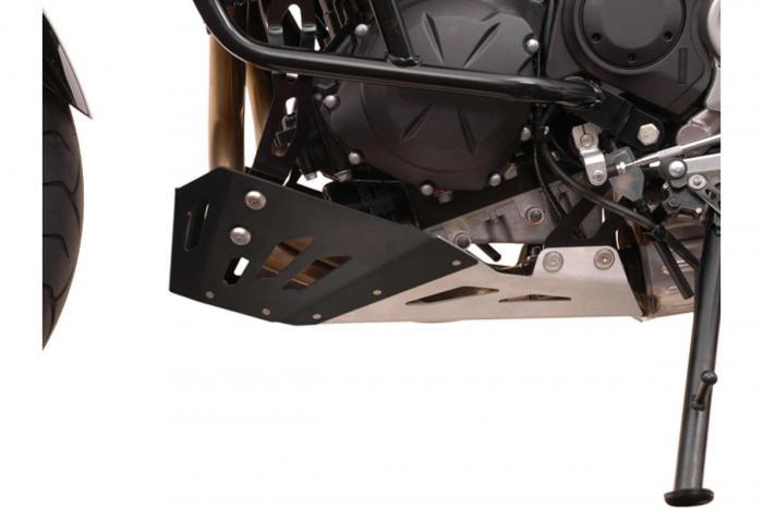 Scut motor Argintiu / Negru Kawasaki Versys 650 2007-2014 [1]