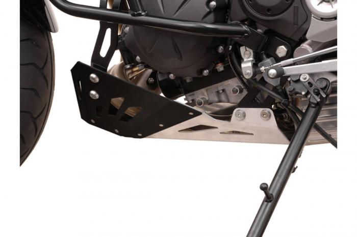 Scut motor Argintiu / Negru Kawasaki Versys 650 2007-2014 [2]