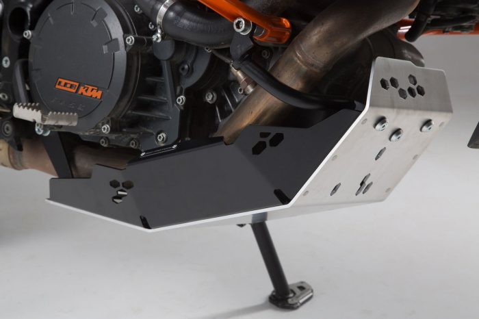 Scut motor Argintiu / Negru KTM 1050 Adventure 2015- [1]