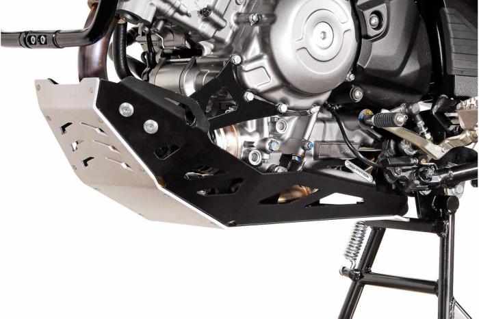 Scut motor Argintiu / negru Suzuki DL 650 V-Strom / V-Strom 650 XT 2011- [0]