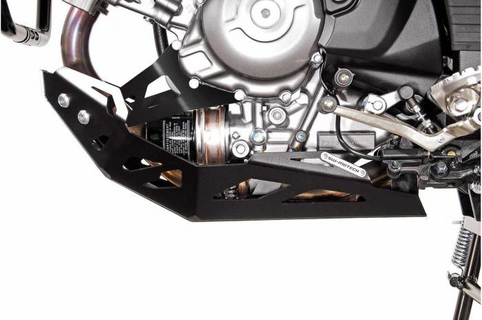 Scut motor Argintiu / negru Suzuki DL 650 V-Strom / V-Strom 650 XT 2011- [1]