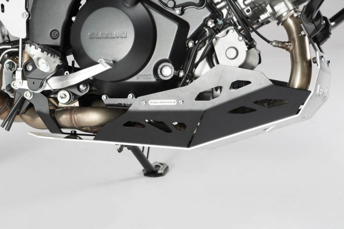 Scut motor Argintiu / negru Suzuki V-Strom 1000 2014- MSS.05.440.10000 [1]