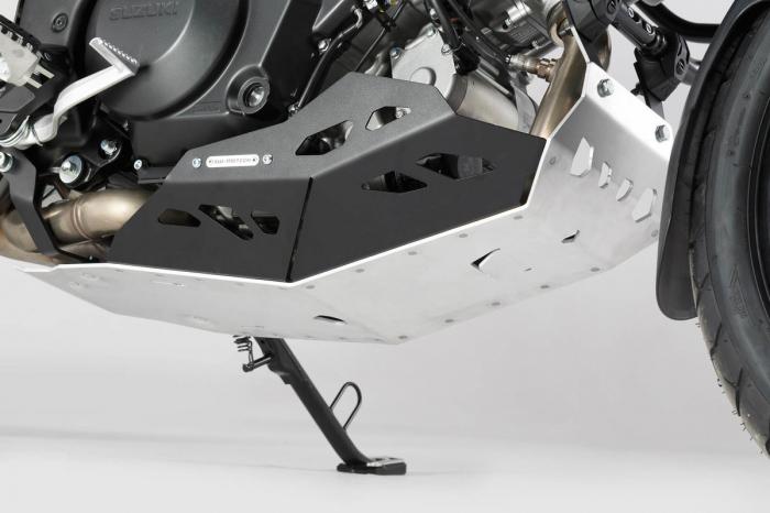 Scut motor Argintiu / negru Suzuki V-Strom 1000 2014- MSS.05.440.10000 [0]