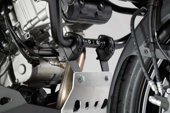 Scut motor Argintiu / negru Suzuki V-Strom 1000 2014- MSS.05.440.10000 [2]