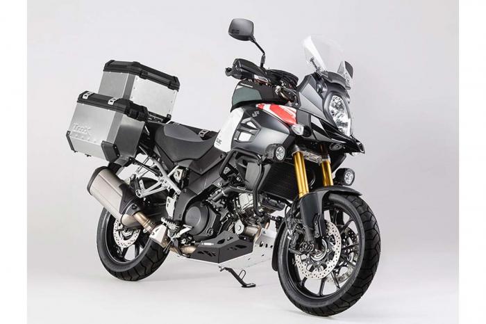 Scut motor Argintiu / negru Suzuki V-Strom 1000 2014- MSS.05.440.10000 [3]