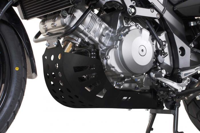 Scut motor Negru Kawasaki KLV 1000 2004-2006 [0]