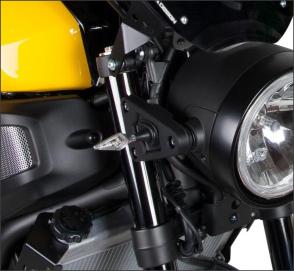 Semnalizatoare X-LED B-LUX NEGRE (pereche) 5