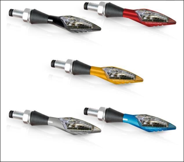 Semnalizatoare X-LED B-LUX ROSII (pereche) 4