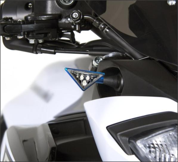 Semnalizatoare Z-LED B-LUX ROSII (pereche) 4