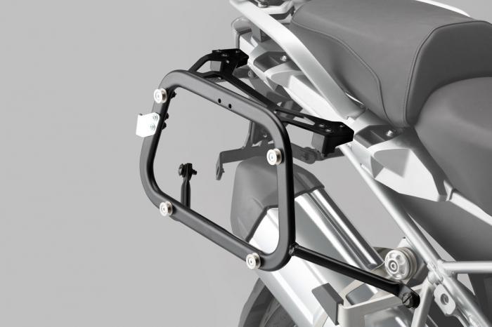 Set 3 cutii Adventure cu sistem fixare Argintiu. Yamaha XT1200Z Super Ténéré (10-). 3