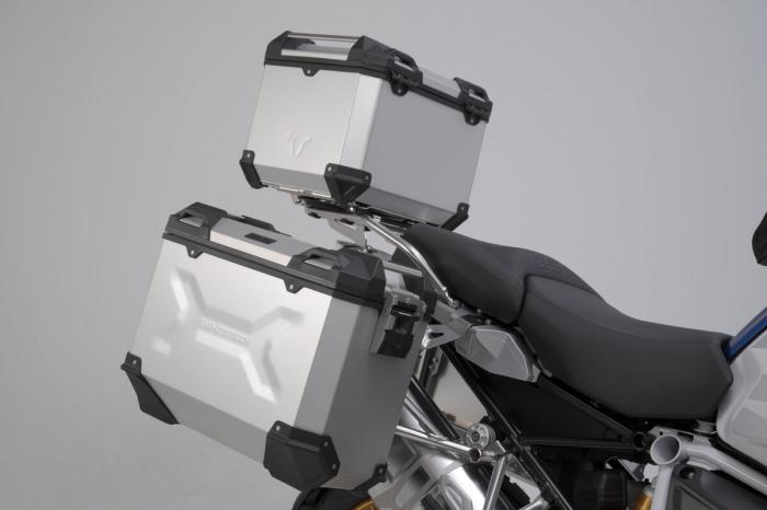 Set 3 cutii Adventure cu sistem fixare Negru BMW R 1200 GS LC Adv/ 1250 GS Adv [0]