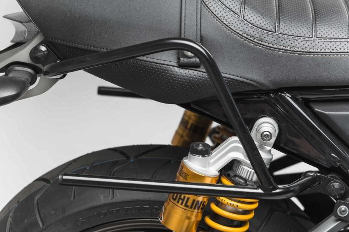 Set genti laterale Blaze cu sistem fixare H negru/gri Yamaha XJR1300 (15-). 4