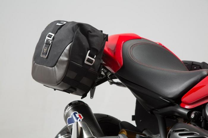 Set genti laterale Legend Gear - Editie Neagru Ducati Monster 797 (16-). 1