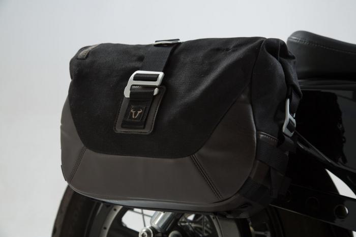 Set genti laterale Legend Gear - Editie Neagru Harley Davidson Sportster models (04-). [2]