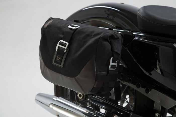 Set genti laterale Legend Gear - Editie Neagru Harley Davidson Sportster models (04-). [3]