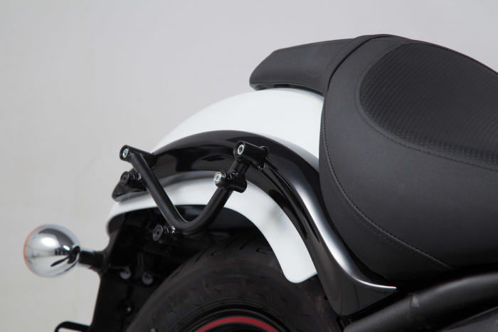 Set genti laterale Legend Gear - Editie Neagru Kawasaki Vulcan 900 Custom/Classic (06-). 2