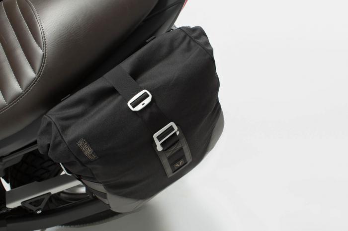 Set genti laterale Legend Gear - Black Edition Suzuki SV650 (15-). 2
