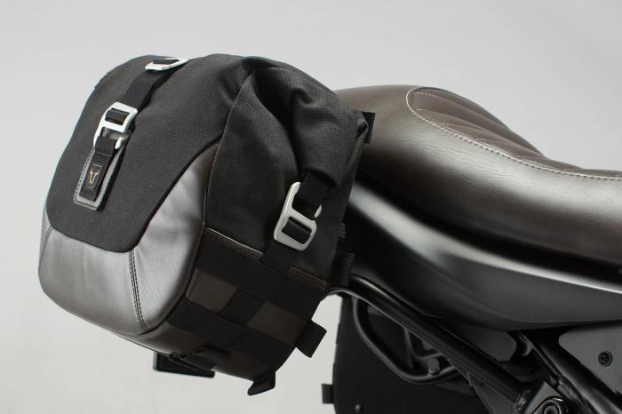 Set genti laterale Legend Gear - Black Edition Suzuki SV650 (15-). 1