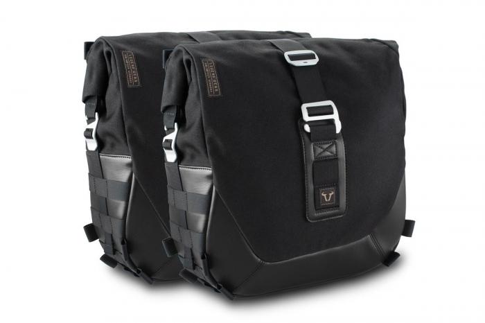 Set genti laterale Legend Gear - Black Edition Triumph Bonneville T100 (16-) / T120 (15-). 0