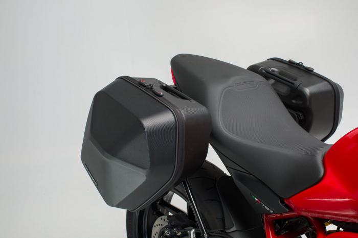 Set genti laterale Urban ABS cu sistem fixare. 2x 16 l. Ducati Monster 797 (16-). 1