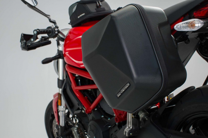 Set genti laterale Urban ABS cu sistem fixare. 2x 16 l. Ducati Monster 797 (16-). 3