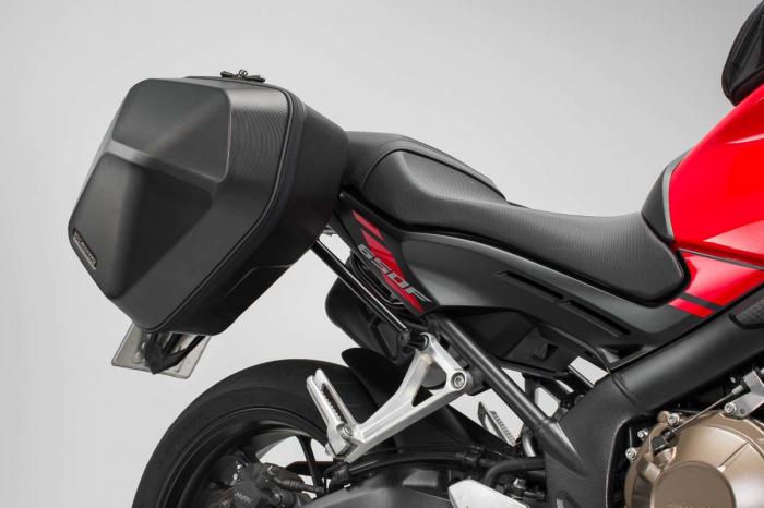 Set genti laterale Urban ABS cu sistem fixare. 2x 16 l. Honda CB650F (14-) / CBR650F (16-). 0