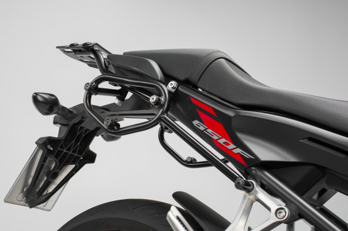 Set genti laterale Urban ABS cu sistem fixare. 2x 16 l. Honda CB650F (14-) / CBR650F (16-). 1