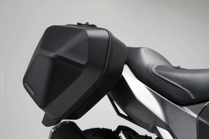 Set genti laterale Urban ABS cu sistem fixare. 2x 16 l. Kawasaki Versys-X 300 (16-). 0