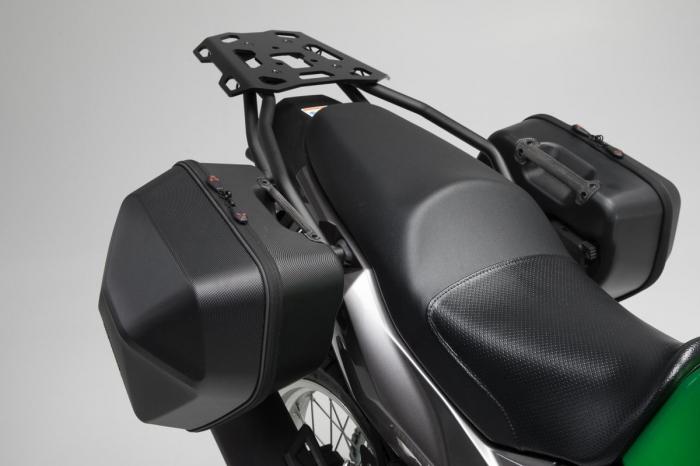 Set genti laterale Urban ABS cu sistem fixare. 2x 16 l. Kawasaki Versys-X 300 (16-). 1