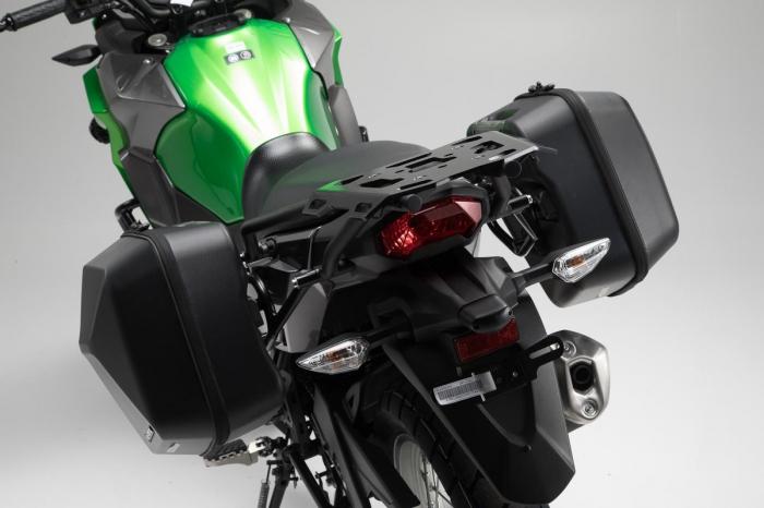 Set genti laterale Urban ABS cu sistem fixare. 2x 16 l. Kawasaki Versys-X 300 (16-). 3