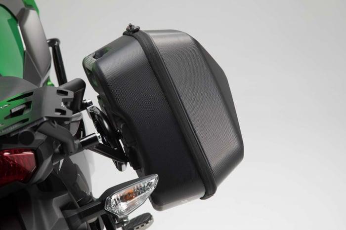 Set genti laterale Urban ABS cu sistem fixare. 2x 16 l. Kawasaki Versys-X 300 (16-). 4
