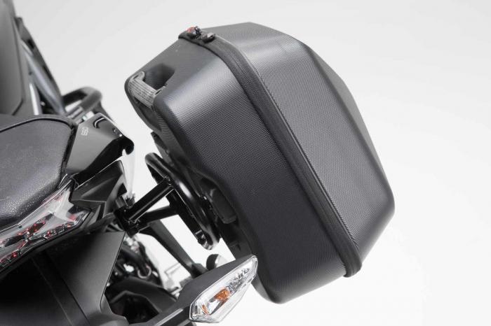 Set genti laterale URBAN ABS cu sistem fixare. 2x 16 l. Kawasaki Z650 / Ninja 650 (16-). 4