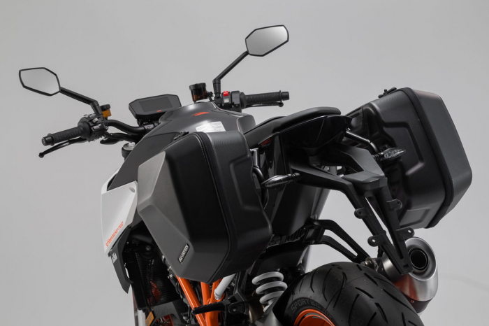 Set genti laterale Urban ABS cu sistem fixare. 2x 16 l. KTM 1290 Super Duke R (16-). 1