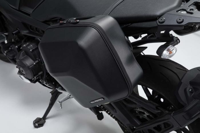 Set genti laterale Urban ABS cu sistem fixare. 2x 16 l. Yamaha MT-09 (16-). 3