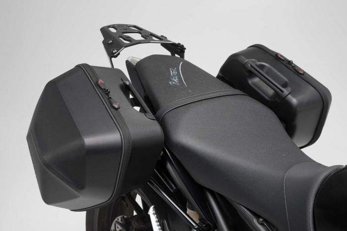 Set genti laterale Urban ABS cu sistem fixare. 2x 16 l. Yamaha MT-09 (16-). 1