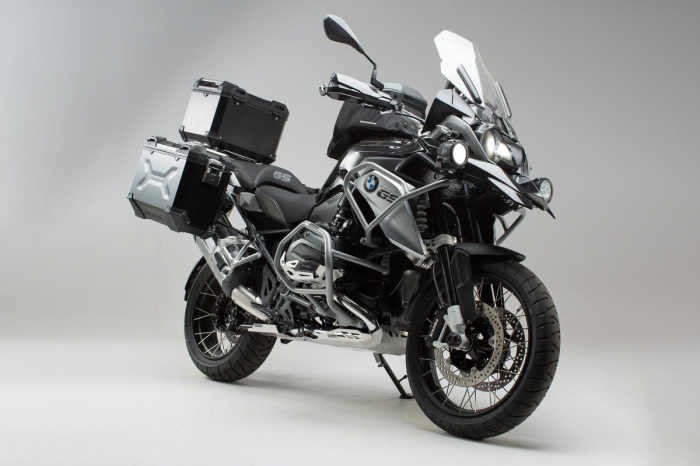 Set protectii Adventure Argintiu. BMW R1200GS LC (13-16). 0