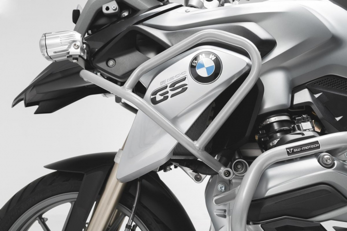Set protectii Adventure Argintiu. BMW R1200GS LC (16-) / Rallye (17-). 2