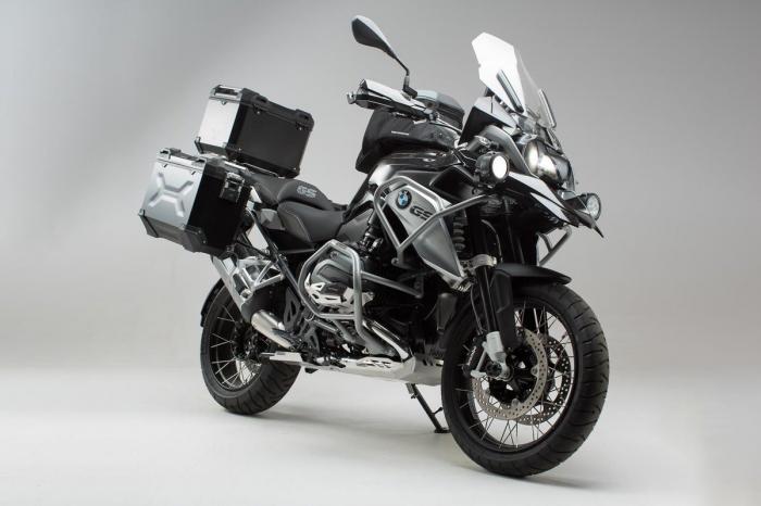 Set protectii Adventure Argintiu. BMW R1200GS LC (16-) / Rallye (17-). 0